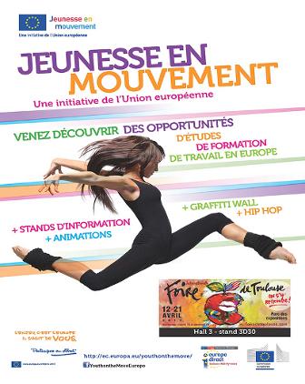 Campagne Jeunesse en Mouvement à la Foire Internationale de Toulouse