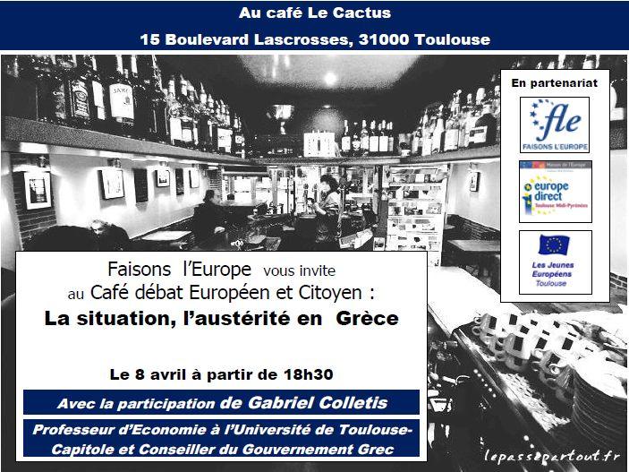 Café débat européen et citoyen