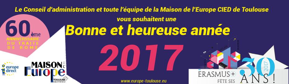 Meilleurs Vœux 2017!