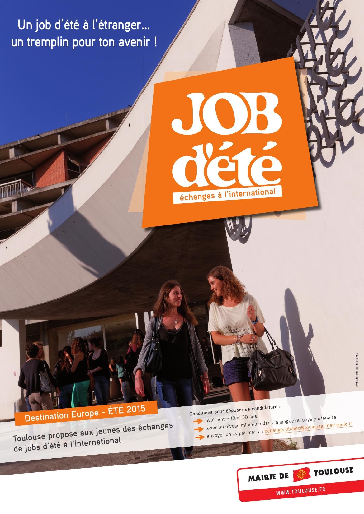 La Ville de Toulouse lance un projet d'échanges de jobs d'été à l'international