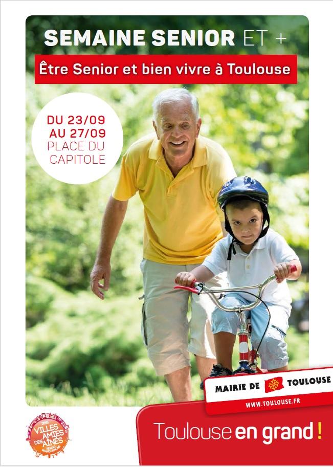 Du 23 au 27 septembre: Semaine Senior et Plus à Toulouse