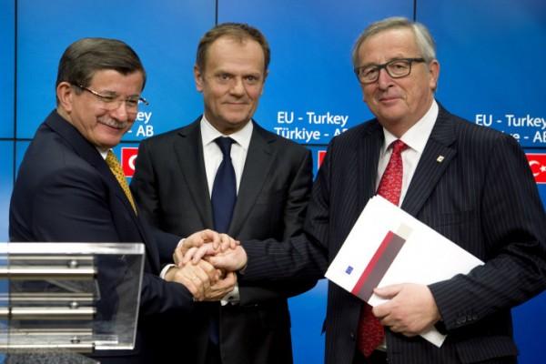 Accord sur le contrôle des migrants entre la Turquie et l'Union Européenne