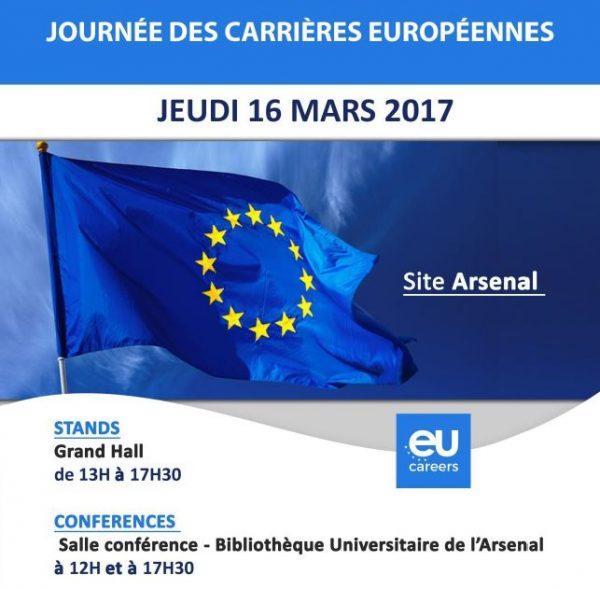 Journée des carrières européennes à l'Université Toulouse 1 Capitole