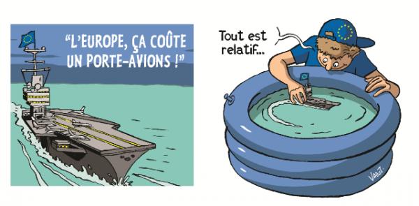 L'Europe coûte trop cher à la France ! Vraiment ? #DecodeursUE