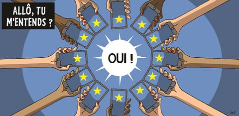 Fin des frais d'itinérance dans l'UE