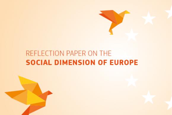 Réflexion sur la dimension sociale de l'Europe