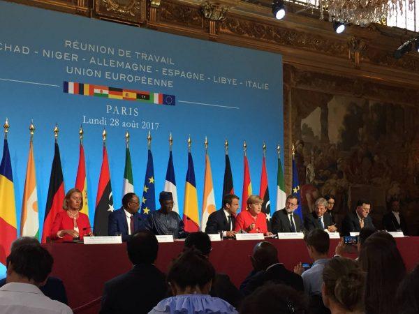 Déclaration conjointe des chefs de gouvernements pour combattre la migration clandestine