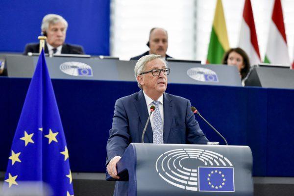 Discours annuel sur l'état de l'Union européenne par Jean-Claude Juncker
