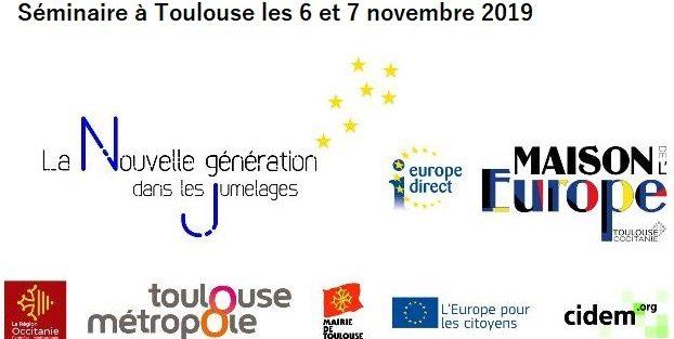 Séminaire Jumelage 2019 : «Favoriser l'engagement des jeunes pour l'Europe»